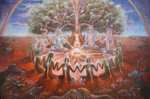 The Celebration Of The Spring Equinox - A Vision Of Rebirth