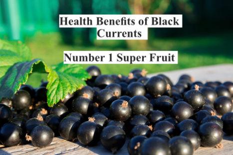 Health Benefits Of Black Currents – The # 1 Super Fruit