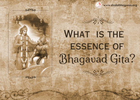 Bhagavad Gita And Self- Realization