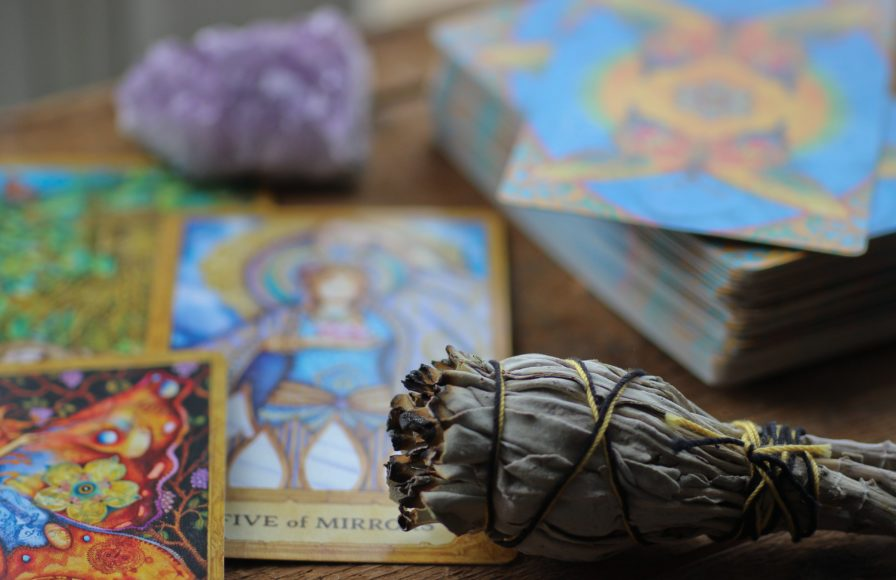 Crystals to use during tarot readings.
