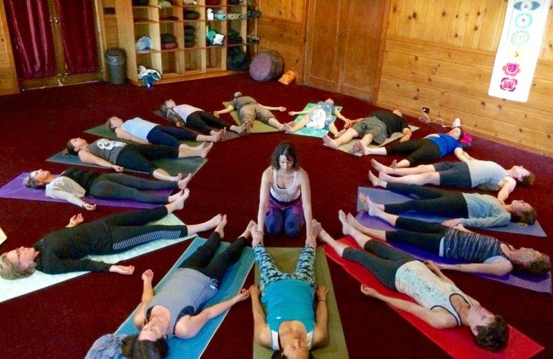 Yoga And Meditation Sierra Hot Springs Retreat