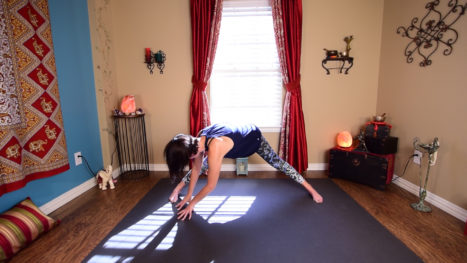 Full Body Gentle Yoga Flow For When You Are Tired