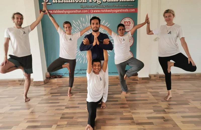 100 Hour Yoga TTC In Rishikesh
