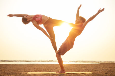 6 Partner Yoga Poses To Help Explore Your Relationship