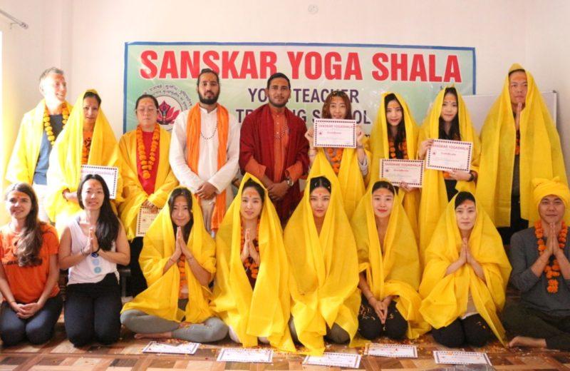 200hours Yoga Teacher Training Course In Rishikesh India