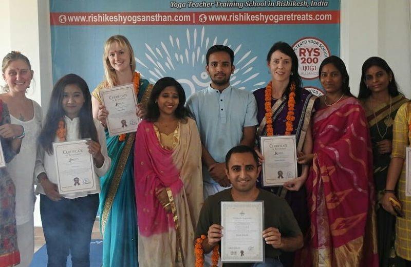 500 Hour Yoga TTC In Rishikesh
