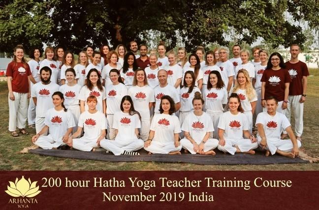 200 Hour Hatha Yoga Teacher Training @ Arhanta Yoga Ashrams