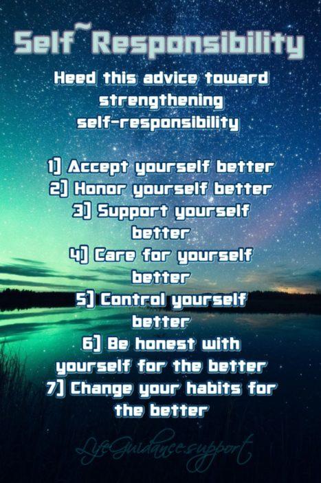 Self Help Friday~ 07/17/2020