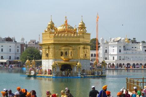 Golden Temple In Amritsar, Punjab, India