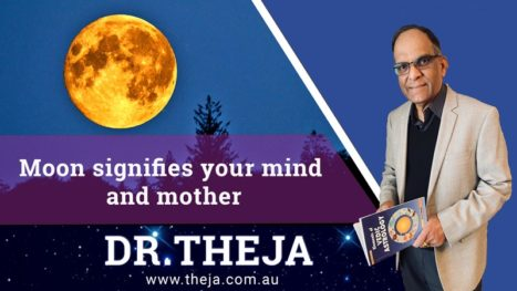 Moon Signifies Your Mind And Mother