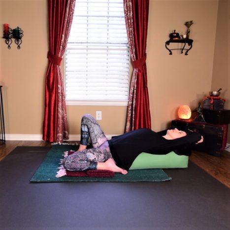 Intermediate Yin Yoga For Deep Hip & Leg Stretch