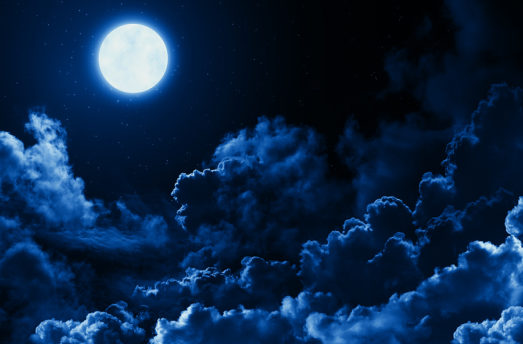 FULL MOON   Blue Moon Of Life, Death And Divine Blessings   Vedic Astrology
