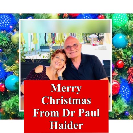 Merry Christmas From Dr. Paul Haider