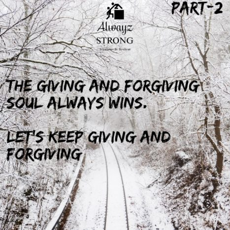Giving And Forgiving Is The Key To Happiness