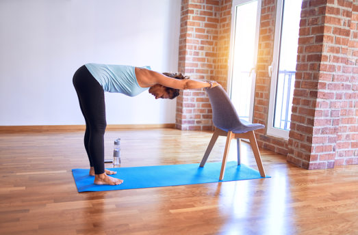 Chair Yoga Poses To Keep Your Neck, Shoulders, Back And Knees Healthy