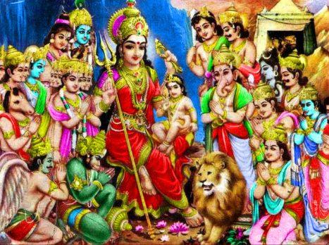 Symbolic Interpretation Of Kartikeya And Skandamata