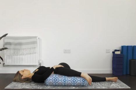 Yin Yoga For Better Sleep – Yin Yoga With A Bolster