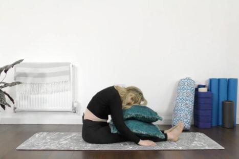 Yin Yoga For Better Sleep – Seated Yin Yoga
