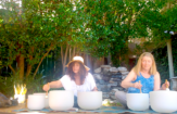 Poolside Full Moon Ceremony And Sound Bath