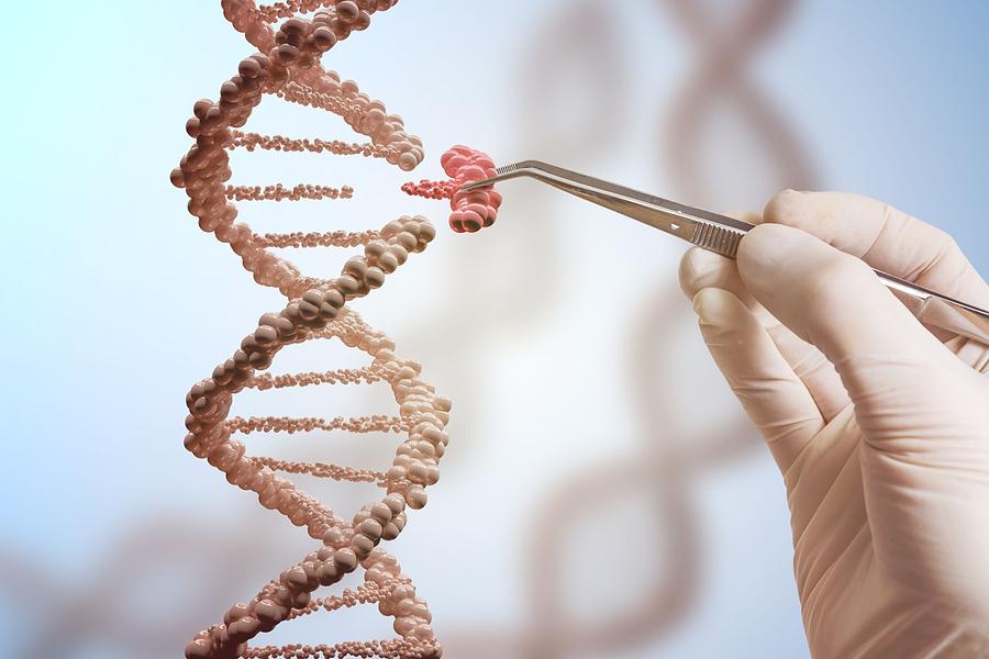 bigstock d Render Of Dna Molecule Stru 389637730