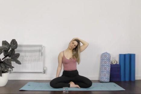 Deep Neck & Shoulder Release With Yin Yoga & Massage